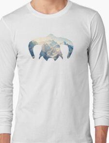 Elder Scrolls - Helmet - Ice Mountains Long Sleeve T-Shirt