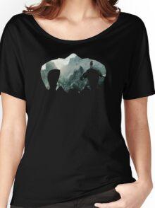 Elder Scrolls - Helmet - Mountains Women's Relaxed Fit T-Shirt
