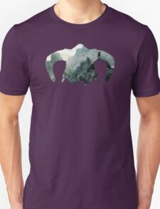 Elder Scrolls - Helmet - Mountains Unisex T-Shirt