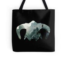 Elder Scrolls - Helmet - Mountains Tote Bag