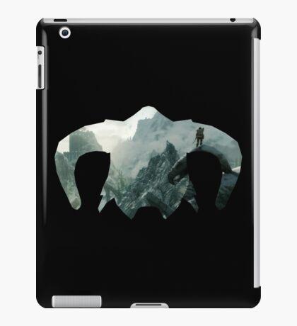 Elder Scrolls - Helmet - Mountains iPad Case/Skin