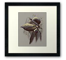 FIND THE PELICAN Framed Print