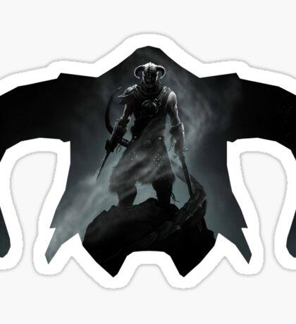 Elder Scrolls - Helmet - Dragonborn Sticker