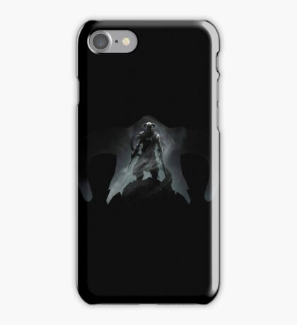 Elder Scrolls - Helmet - Dragonborn iPhone Case/Skin