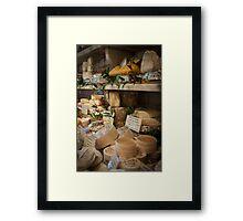 Little Cheese Shop in Paris Framed Print