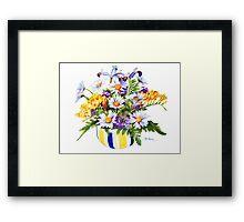 A Springtime Bouquet! Framed Print