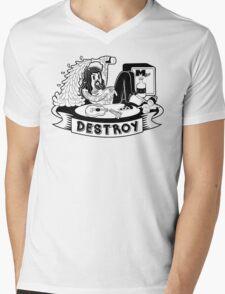 Destroy Mens V-Neck T-Shirt
