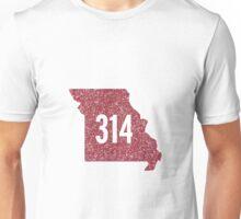 314 St. Louis Missouri Unisex T-Shirt