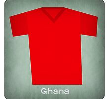 Retro Football Jersey Ghana by Daviz Industries