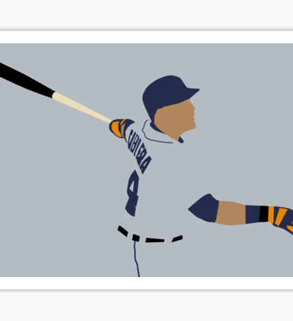 Miguel Cabrera Swing Art Sticker