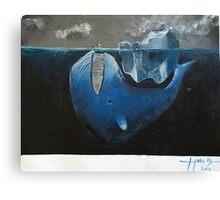 Dark Depths Canvas Print