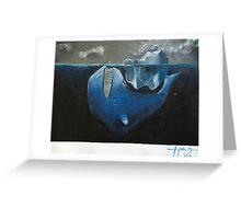 Dark Depths Greeting Card