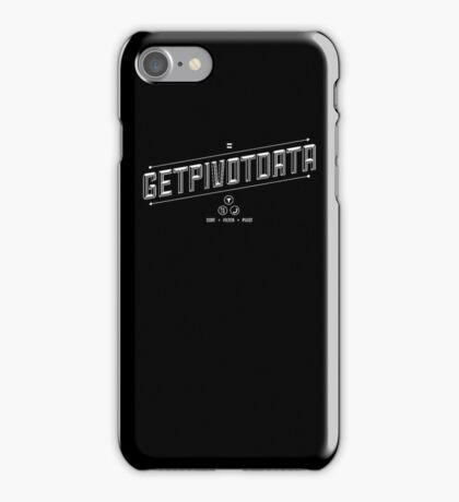 GETPIVOTDATA iPhone Case/Skin