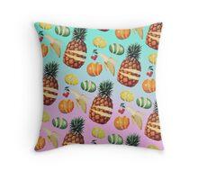 Fruit Ninja Throw Pillow