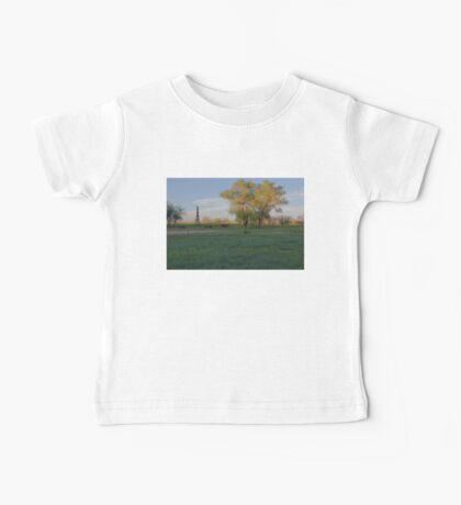 Grasslands at Golden Hour Baby Tee