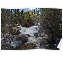 """Glacier Creek #3"" RMNP Poster"
