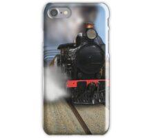 Rx Class Steam Train crossing the motor/railway bridge, Murray Bridge iPhone Case/Skin