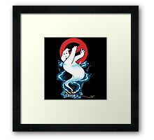 Ghostbusters ghost trap Framed Print
