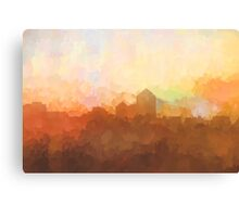 Albuquerque skyline - In the clouds Canvas Print