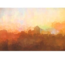 Albuquerque skyline - In the clouds Photographic Print