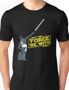 May the Forge be with you.  Unisex T-Shirt