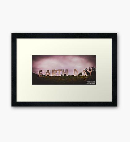 Earth Day Framed Print