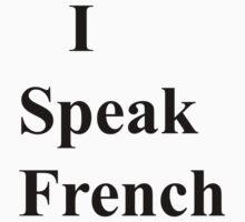 i speak french bold by ispeak