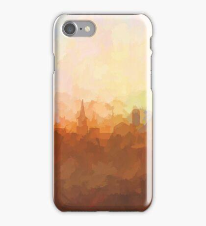 Alexandria, Virginia Skyline - In the clouds iPhone Case/Skin