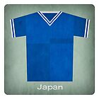 Retro Football Jersey Japan by Daviz Industries