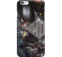 Reinhardt - Ultimate Crushing Machine! (edges) iPhone Case/Skin
