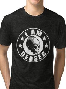 I Am DedSec Tri-blend T-Shirt