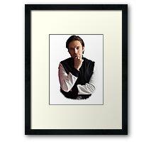 Sebastian Stan Framed Print