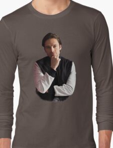 Sebastian Stan Long Sleeve T-Shirt