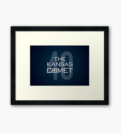 The Kansas Comet Framed Print