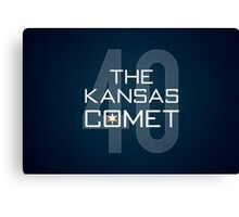 The Kansas Comet Canvas Print