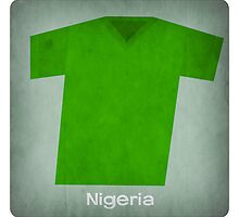 Retro Football Jersey Nigeria by Daviz Industries