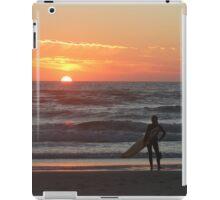 Watching The Sun Go Down. iPad Case/Skin