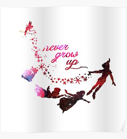Cute Never Grow Up  Poster