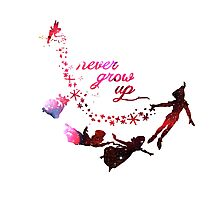 Cute Never Grow Up  Photographic Print