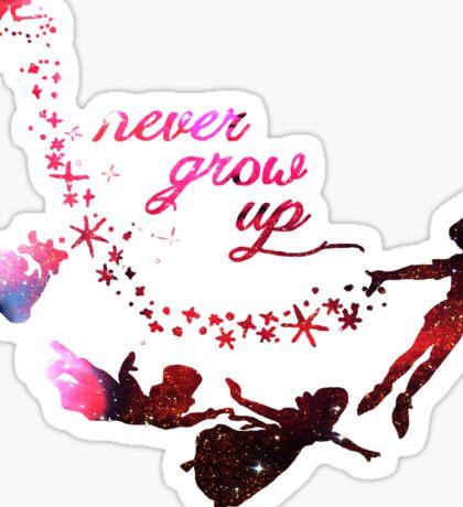 Cute Never Grow Up  Sticker