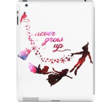 Cute Never Grow Up  iPad Case/Skin