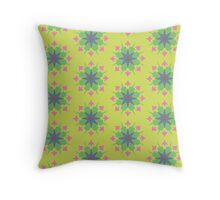 Nature Kaleidoscope  Throw Pillow