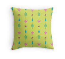 Nature Lines Throw Pillow