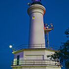 1083 Beacon in the Night by DavidsArt