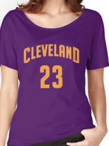 Lebron James Cleveland 23 | 2016 Women's Relaxed Fit T-Shirt