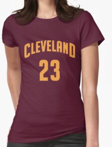Lebron James Cleveland 23 | 2016 Womens Fitted T-Shirt