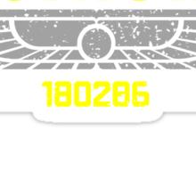 Alien Nostromo Distressed Sticker