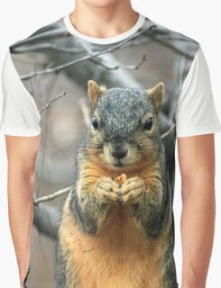 funny squirrel Graphic T-Shirt
