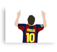 Messi 10 Canvas Print