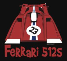 Ferrari 512S One Piece - Short Sleeve